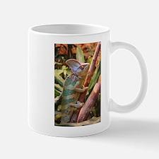 colorful chameleon Mugs