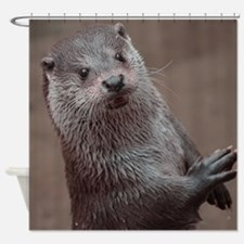 Sweet young Otter Shower Curtain