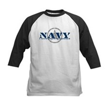 Navy - I Support My Grandson Tee