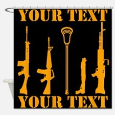 Cool Weapons Shower Curtain