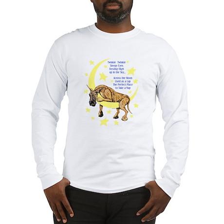 Great Dane Brindle Twinkle Long Sleeve T-Shirt
