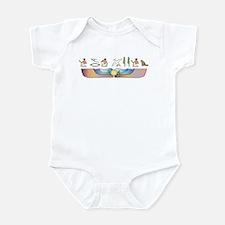 Angora Hieroglyphs Infant Bodysuit