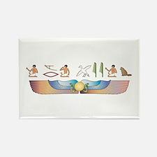 Angora Hieroglyphs Rectangle Magnet
