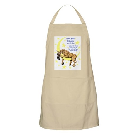 Great Dane Brindle Twinkle BBQ Apron
