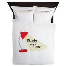 Study Time Queen Duvet