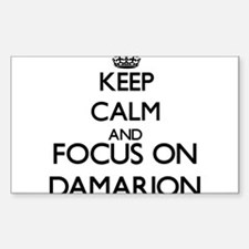 Keep Calm and Focus on Damarion Decal