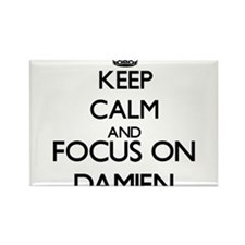 Keep Calm and Focus on Damien Magnets