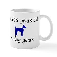85 dog years blue dog 2 Mugs