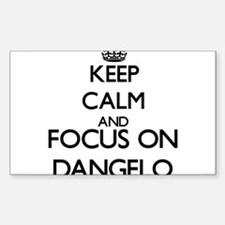 Keep Calm and Focus on Dangelo Decal