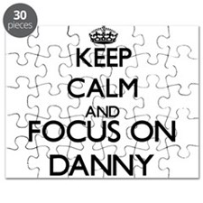 Keep Calm and Focus on Danny Puzzle