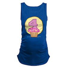 cupcake-birthday04.png Maternity Tank Top