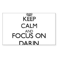 Keep Calm and Focus on Darin Decal