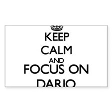 Keep Calm and Focus on Dario Decal