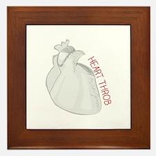 Heart Throb Framed Tile