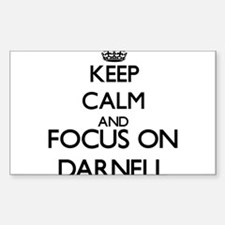 Keep Calm and Focus on Darnell Decal