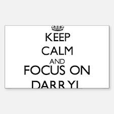Keep Calm and Focus on Darryl Decal