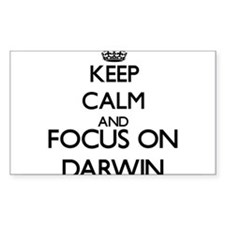Keep Calm and Focus on Darwin Decal