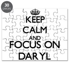 Keep Calm and Focus on Daryl Puzzle