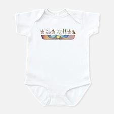 Snowshoe Hieroglyphs Infant Bodysuit