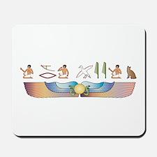 Snowshoe Hieroglyphs Mousepad