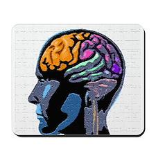 Human Mind Street Art Mousepad