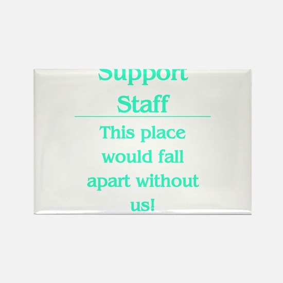 Cute Administrative assistant Rectangle Magnet