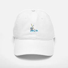 Bucket And Mop Baseball Baseball Baseball Cap