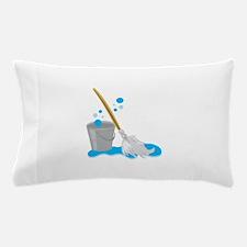 Bucket And Mop Pillow Case
