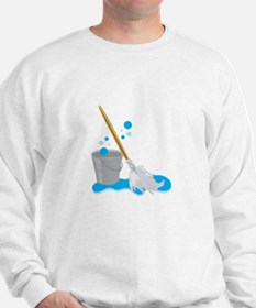 Bucket And Mop Sweatshirt