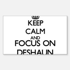 Keep Calm and Focus on Deshaun Decal