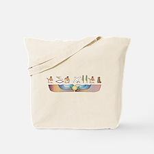 Fold Hieroglyphs Tote Bag