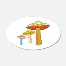 Toadstools Wall Decal