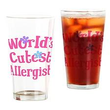 Allergist (worlds cutest) Drinking Glass