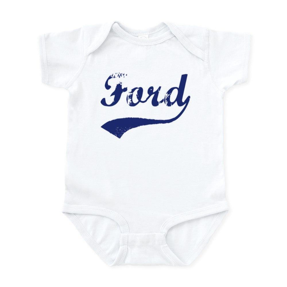 CafePress Ford - vintage (blue) Infant Bodysuit