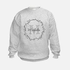 Personalized vintage monogram Sweatshirt