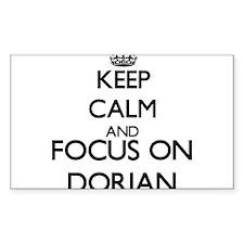 Keep Calm and Focus on Dorian Decal