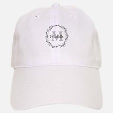 Personalized vintage monogram Baseball Cap