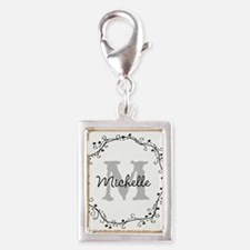Personalized vintage monogram Charms