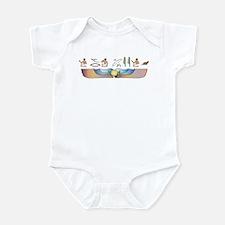 Ocicat Hieroglyphs Infant Bodysuit