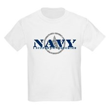 Navy - I Support My Daughter T-Shirt
