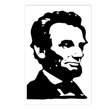 Abraham Lincoln Icon Postcards (Package of 8)