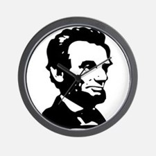 Abraham Lincoln Icon Wall Clock