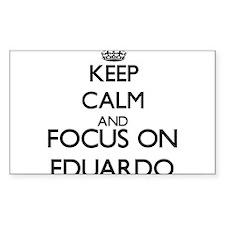 Keep Calm and Focus on Eduardo Decal