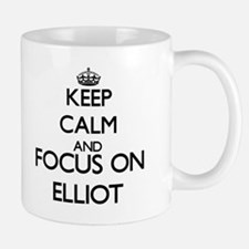 Keep Calm and Focus on Elliot Mugs