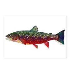 Brook Trout v2 Postcards (Package of 8)