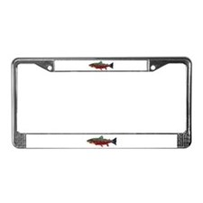 Brook Trout v2 License Plate Frame
