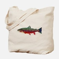 Brook Trout v2 Tote Bag