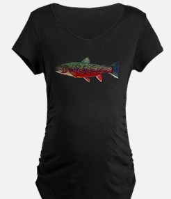 Brook Trout v2 Maternity T-Shirt