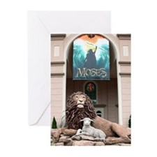 The Lion And The Lamb Greeting Cards (pkg 20)