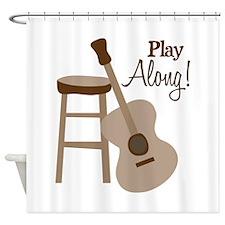 Play Along! Shower Curtain